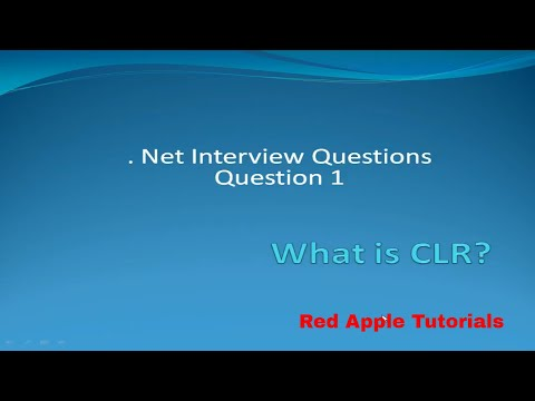 .NET Interview Questions. What is CLR?  IN HINDi