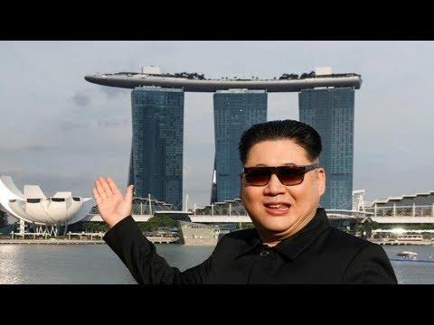 上天入地的59小时过山车 金正恩提前到达新加坡?
