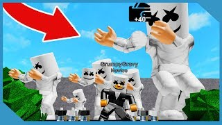 Giant Marshmello Concert in Roblox