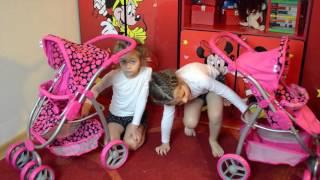 Распаковка. Обзор колясок для кукол  BUGGY BOOM Amidea ! Детский канал Расти вместе с нами.Коляска