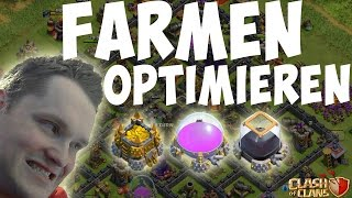 FARMEN OPTIMIEREN || CLASH OF CLANS || Let's Play CoC [Deutsch/German HD]