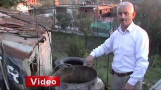 Hayvan gübresinden gaz üretiyor