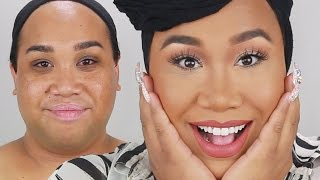 MAKEUP FOR BROWN EYES | PatrickStarrr