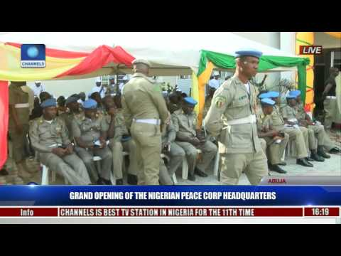 Grand Opening Of The Nigerian Peace Corp Headquarters Pt. 5