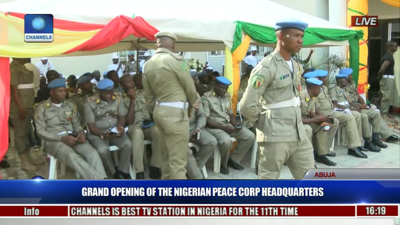 Grand Opening Of The Nigerian Peace Corp Headquarters Pt  5