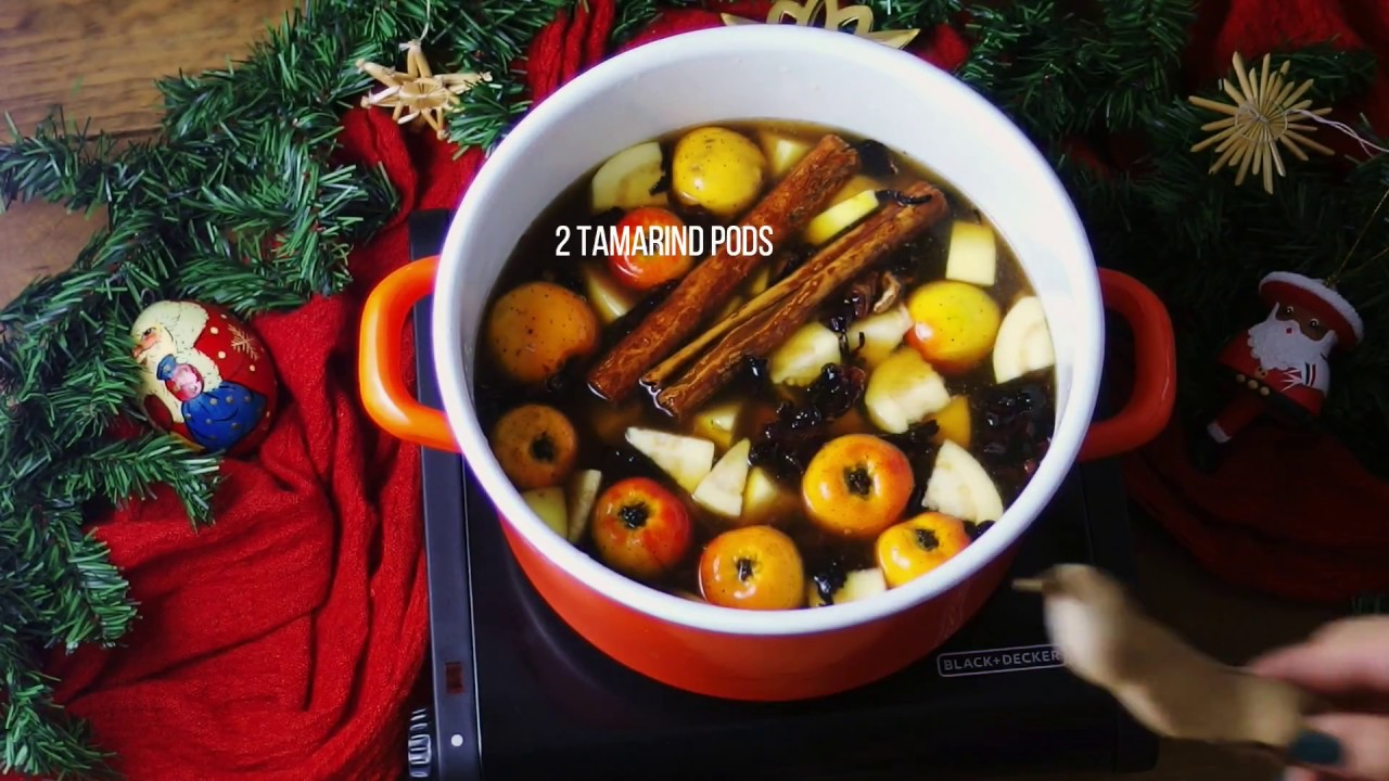 Mexican Christmas.How To Make Mexican Christmas Punch Vegan Recipe