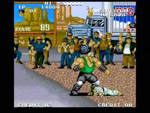 Street Smart Gameplay Part 1 Of 2 Snk Arcade Youtube