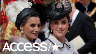 Did Kate Middleton Actually Snub Queen Letizia Of Spain?
