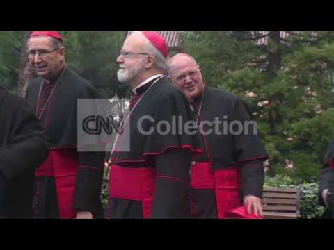 POPE ELECTION: AMERICAN CARDINALS DEPART