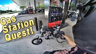 Video Pit Bike Adventures | Gas Station Quest! download MP3, 3GP, MP4, WEBM, AVI, FLV Februari 2018