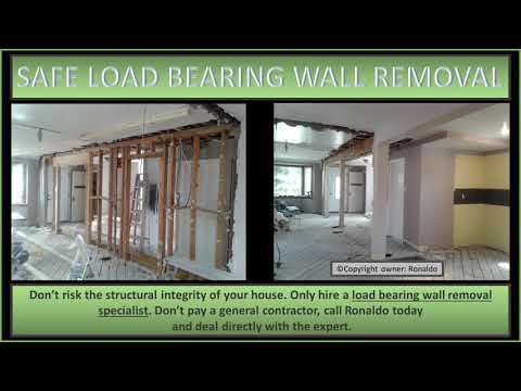 SAFE LOAD BEARING WALL REMOVAL - East York, ON M4J 4P3