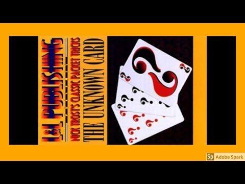 ONLINE MAGIC TRICKS TAMIL I ONLINE TAMIL MAGIC #54 I Unknown Card