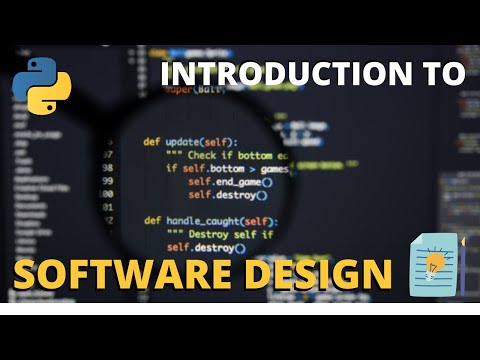 An Introduction To Software Design - With Python