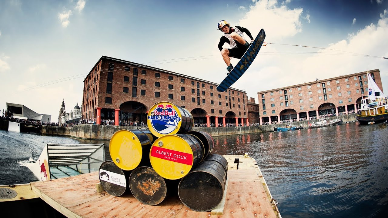 Best Hd Live Wallpaper Wakeboarding In Liverpool Red Bull Harbour Reach 2013