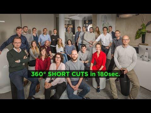 360° SHORT CUTS in 180sec.