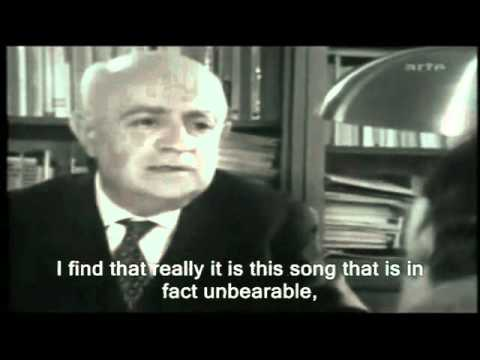 Theodor Adorno  Music and Protest