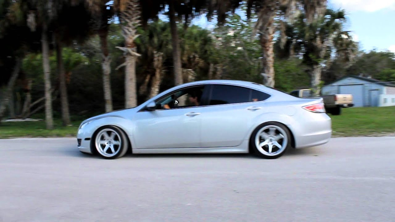 Slammed Mazda 6 Brokelifestyle Youtube