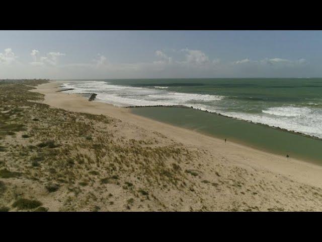 Soulac-sur-Mer face au sable, une lutte sans fin