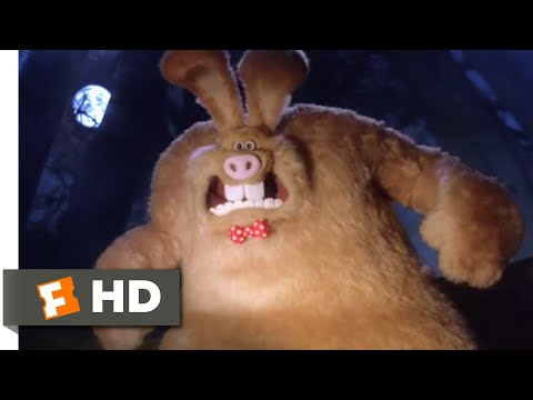Wallace & Gromit: The Curse Of The Were-Rabbit (2005) - Wallace Transforms Scene (5/10)   Movieclips