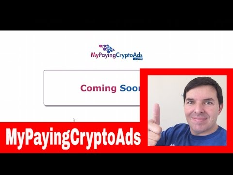 MyPayingCryptoAds New Revshare Launching What is My Paying Crypto Ads MPCA by Colin Brazendale
