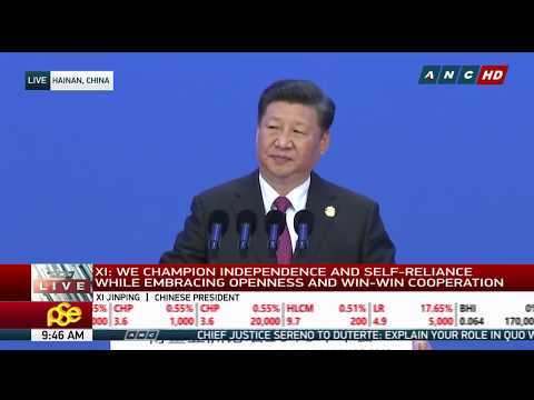 WATCH: Chinese President Xi opens Boao Forum | 10 April 2018