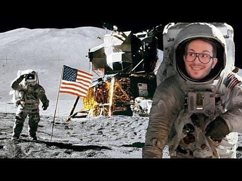 Apollo 11 VR : L'expérience de réalité virtuelle qui a fait pleurer Julien en marchant sur la Lune