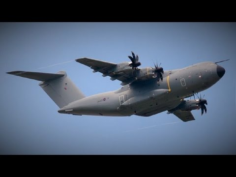 Flying high over Blackpool New RAF Airbus A400M