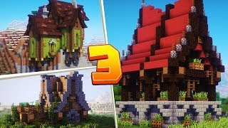 TOP 3 PROSTE DOMY W MINECRAFT #5