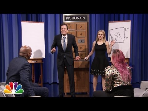 Thumbnail: Pictionary with Kristen Bell, Steve Harvey and Demi Lovato - Part 1