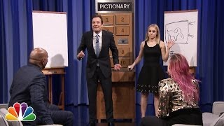 Download Pictionary with Kristen Bell, Steve Harvey and Demi Lovato - Part 1 Mp3 and Videos