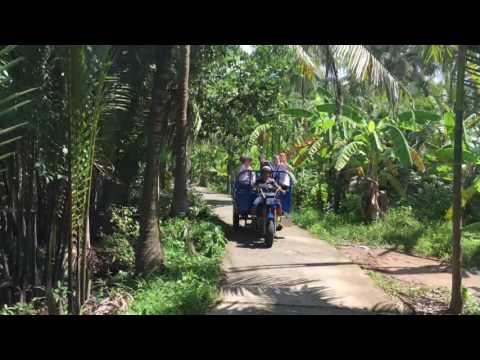 Tuk Tuk in Mekong Delta