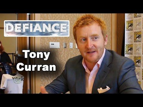 Defiance  Tony Curran   ComicCon 2014