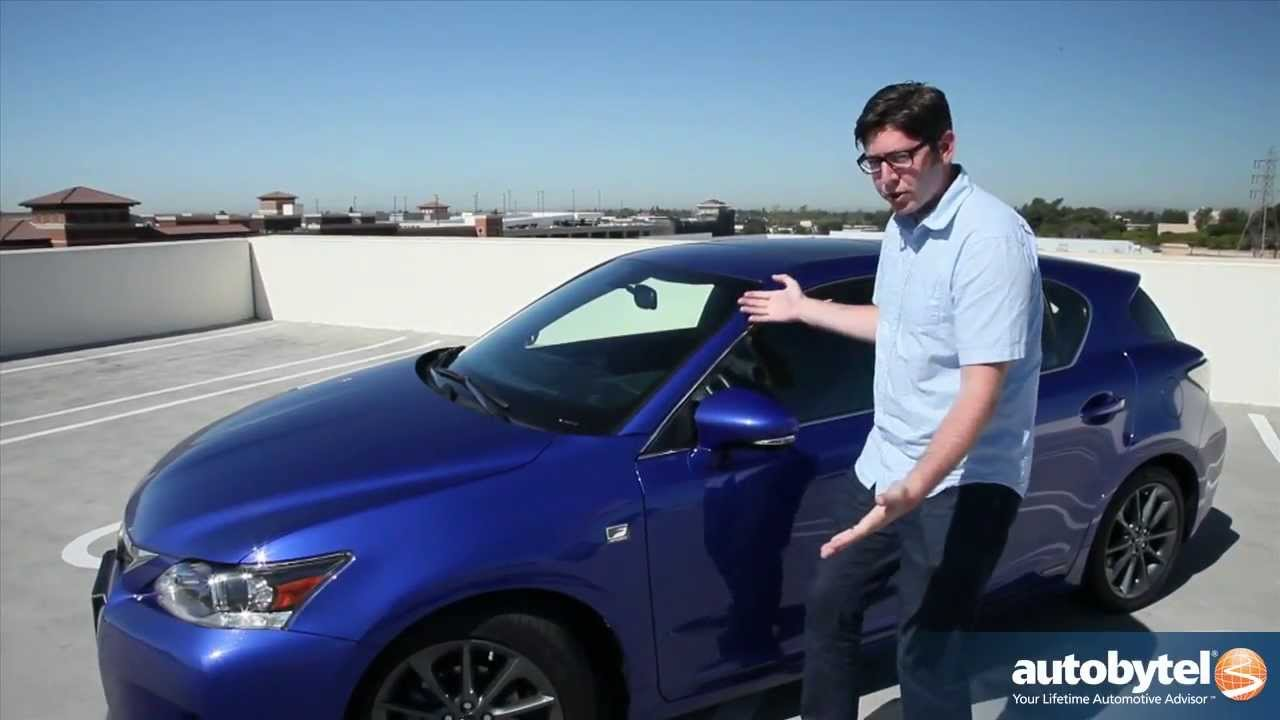 2013 Lexus CT 200h F Sport Test Drive U0026 Luxury Hybrid Car Video Review