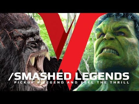 Hulk VS King Kong - SMASHED LEGENDS ✔