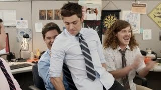 Zac Efron Sexy Lap Dance With Workaholics - VIDEO