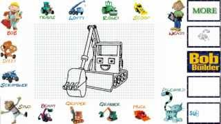 How To Draw Grabber from Bob The Builder - Video