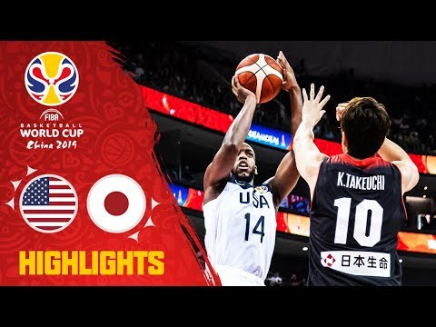 Without Marcus Smart, Team USA crushes Japan in FIBA World