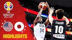 USA v Japan - Highlights - FIBA Basketball World Cup 2019