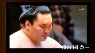 白鵬 が33回目の優勝 | Yokozuna Hakuho Makes Sumo History: Wins Record 33rd Tournament Championship