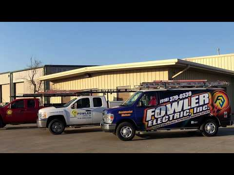 Tulsa Electrician | Fowler Electric About Us
