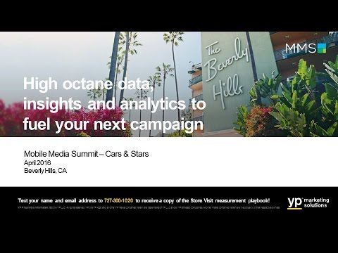 Mobile Media Summit Los Angeles 2016 Cars and Stars