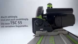 Festool Akku-Tauchsäge TSC 55