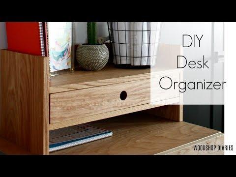 How to Make a Simple DIY Desk Organizer