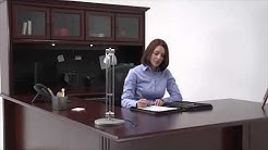 Cherry Office Furniture   Sauder Heritage Hill   National Business Furniture
