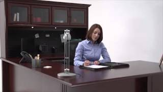 Cherry Office Furniture | Sauder Heritage Hill | National Business Furniture