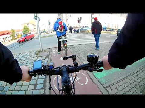 #1 Riding Timisoara(ROmania) - Commute from work back home via bicycle shop