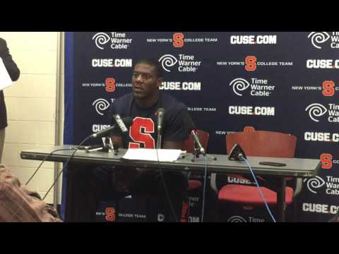 Linebacker Zaire Franklin Part 2 Press Conference Syracuse vs Virginia Football October 17, 2015
