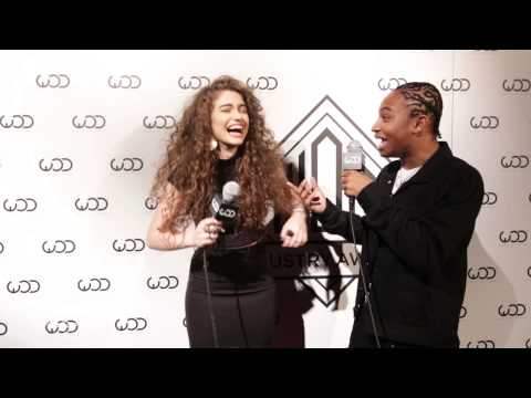 Dytto w/ Fik-Shun at the #WODAwards '15 Red Carpet