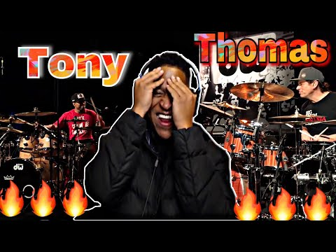Tony Royster Jr. & Thomas Lang - European Wood Chopper Tour - Reaction