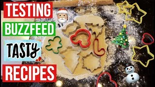 TASTY BUZZFEED RECIPES TESTED #9 | BEST SUGAR COOKIES